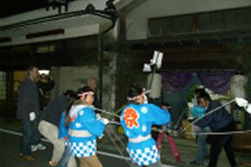 写真:猪の子祭り