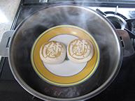 蒸した竹屋饅頭