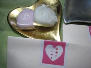 ピンクとホワイトで可愛らしく